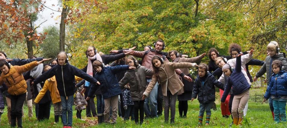 happy manif dans les bois
